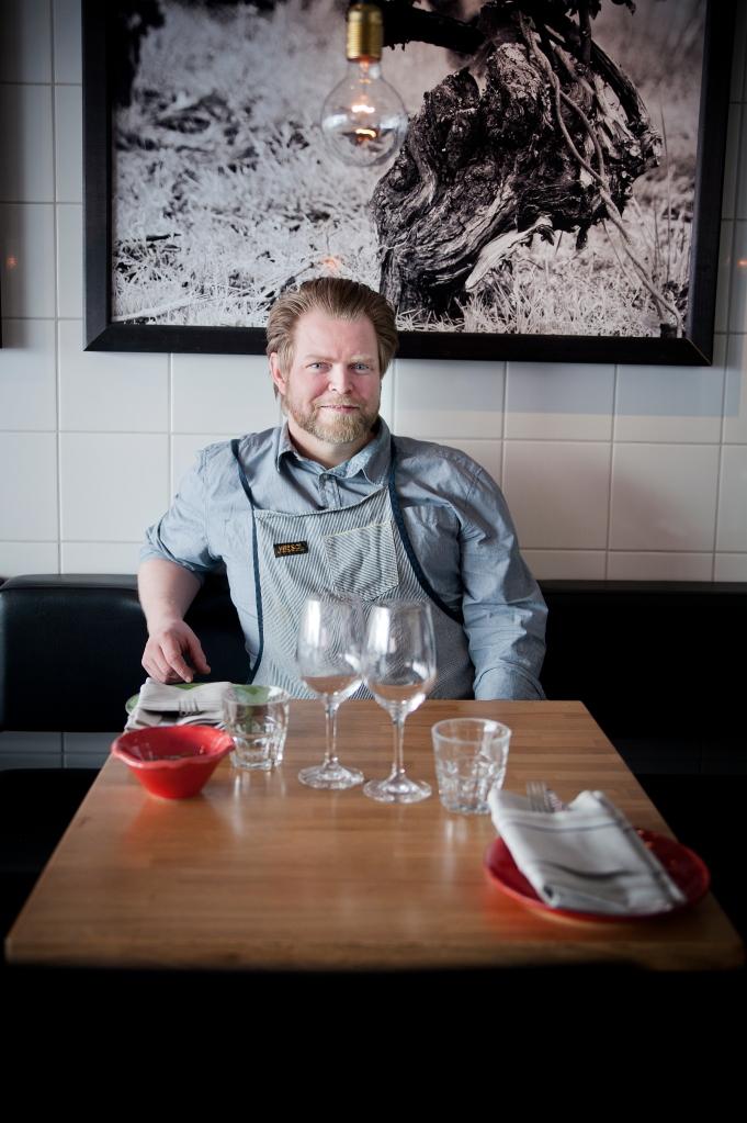 Petter Thylin ägare av Tapas. Foto: Tina Skiöld