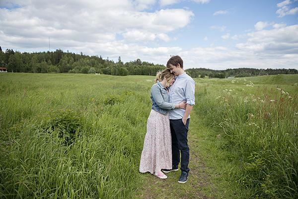 Sofie & Patrik. Foto: Tina Skiöld