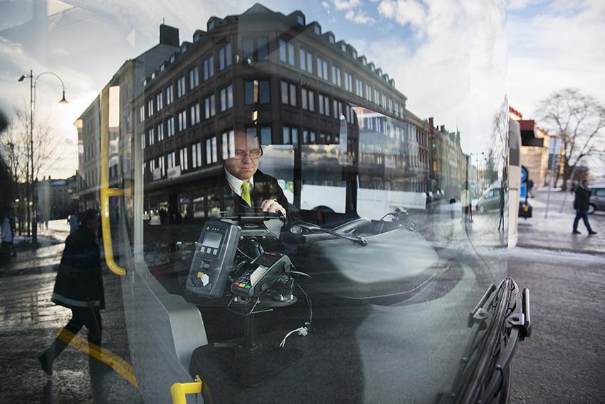 Busschauffören Ronny Fröwall.