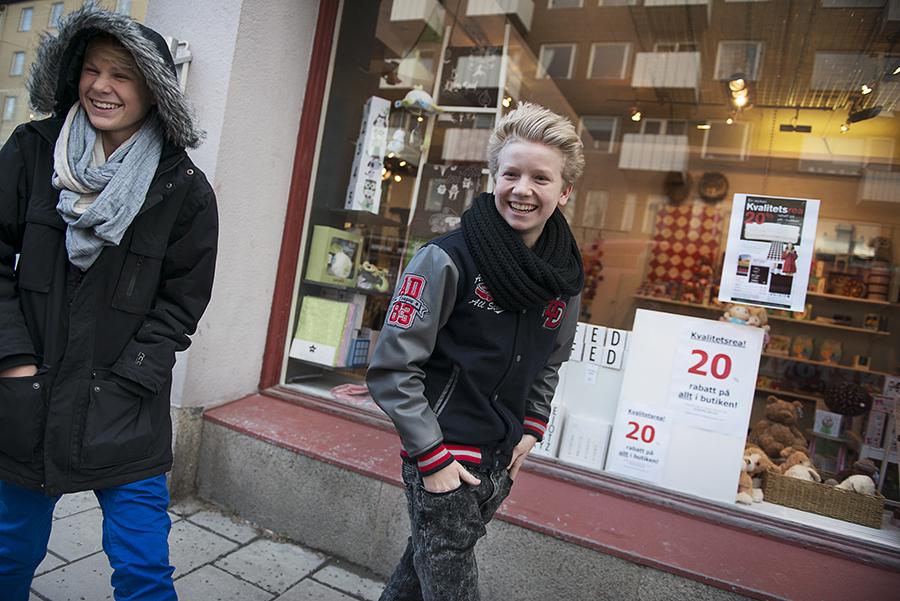 Skyscraper spelar in sitt första album i Sundsvall. Foto: Tina Skiöld